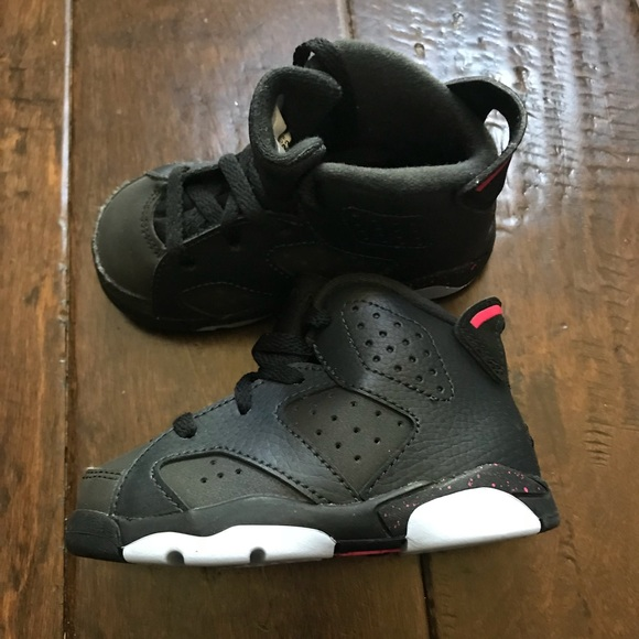 the latest 05df7 e11da ... Nike Air Jordan Retro 6 Sneakers Shoes 6C  Authentic Cheap ...